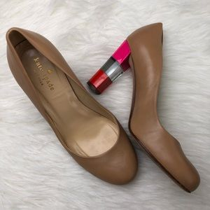 Kate Spade New York Color block Leslie Heels